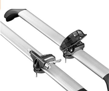 Electric life - Portabicicleta para 1 bici, Unisex, Negro