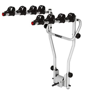 Thule - HangOn 4, Portabicicletas para 4 bicis, basculante, básico y de fácil manejo