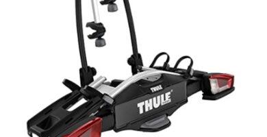 Thule - Un portabicicletas de bola muy compacto y ligero