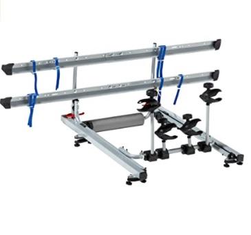 fischer - Portabicicletas para Techo de automóvil, Capacidad de 2 Bicicletas