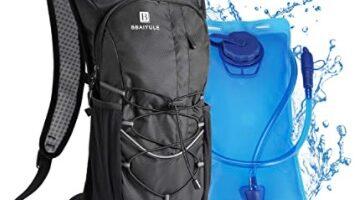 BBAIYULE - Mochila de hidratación de 2L con bolsa de bicicleta de vejiga de hidratación para correr al aire libre Ciclismo Senderismo