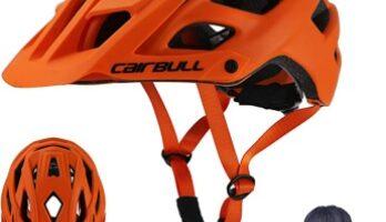 Cairbull - Aerodinámica Casco de Bicicletta, Unisex Adulto, Ajustable 55-61 cm con Visera
