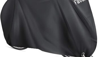 Favoto - Funda para Bicicleta Exterior, 210D Oxford Cubierta Protector Impermeable al Aire Libre contra Lluvia, UV, Polvo, Nieve