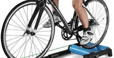 Klevsoure - Rodillos de Entrenador de Bicicleta Interior Ejercicio en casa Bicicleta Ciclismo Entrenamiento Fitness