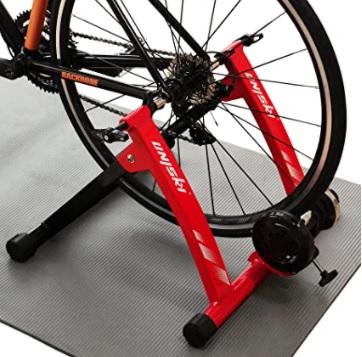 Unisky - Soporte magnético para bicicleta, hacer ejercicio en interior con bicicleta de montaña y carretera