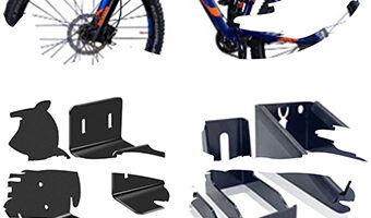 Soporte de pedal para bicicleta