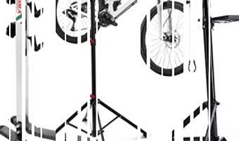 Soporte de suelo para bicicleta
